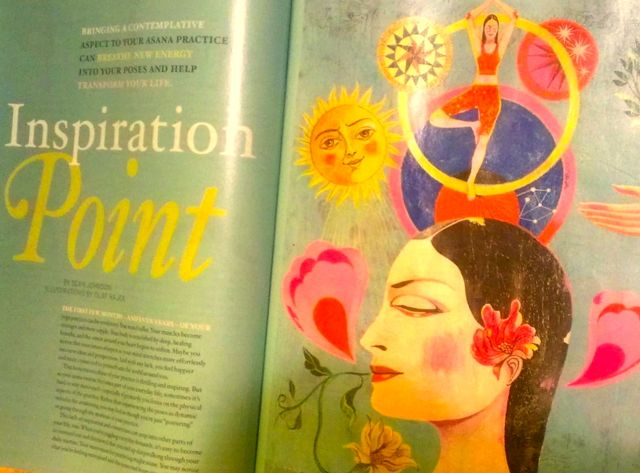"""""""Inspiration Point"""" – Yoga Journal Article"""